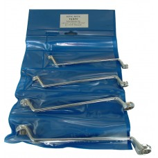 """Whitworth Ring Wrench Set 1/8""""-9/16"""" - 4 Piece"""